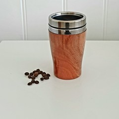 Wooden travel mug, Wooden coffee mug, Keep cup, Gift for her,Father's day gift,