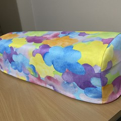 Cricut (Maker/Explore Air 2) Dust Cover - Multicoloured Clouds