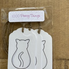 Kitty Themed Gift Tags