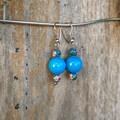 Blue Jasper Drop Earrings