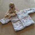 Hand knitted 'unknown gender' jacket
