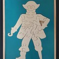 Pirate Tray Puzzle Green