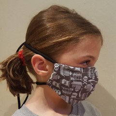 Reusable Masks - Nose Wire & Toggle - All Sizes Made to Order