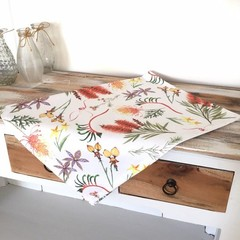 Australian Native Flora Tea Towel, Floral Wildflower Tea Towels