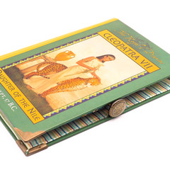 Cleopatra - Daughter of the Nile notebook - Notebook made from a pre-loved book