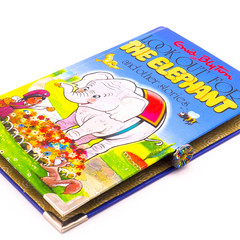 Look Out for Elephant  notebook - Enid Blyton - Notebook made from a book