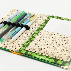 The Wind in the Willows notebook - Kenneth Grahame -  Notebook made from a book