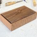 Jewellery | Keepsake | Wood Box In Tasmanian Oak And American Walnut