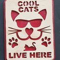 Cool Cats sign