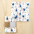Ladies Handkerchief Australian Blue Wren Bird single Hankie