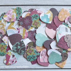 Small Scalloped Hearts - Style 2