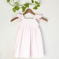 Eco Cotton Flutter Sundress Size 3