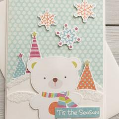 'Tis The Season Handmade Card