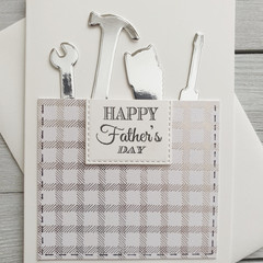 Happy Father's Day Handmade Card