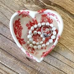 Ceramic Ring Holder - Ring Dish - Jewellery Holder - Gift