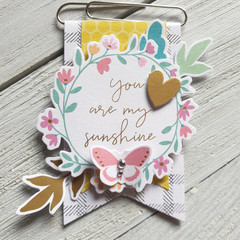 My Sunshine Altered Paperclip