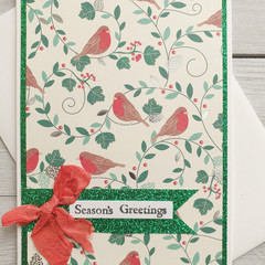 Season's Greetings Handmade Card
