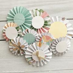 Rosette Flowers - Style 1