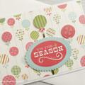 Tis The Season Handmade Card
