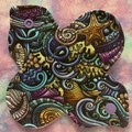 "Marine 6"" (15cm) reusable cloth pad liner"