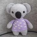 """""""Snowflake"""" cuddly koala bear"""