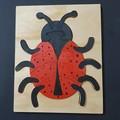 Ladybird Tray Puzzle