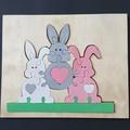 Bunnies Tray Puzzle