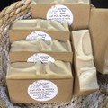 Oat Milk and Honey Soap Pack of 4
