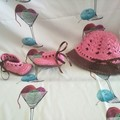 My Angel Baby Hat & Bootee Set