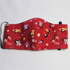 Kids Fabric Face Masks Size: 3-6yrs