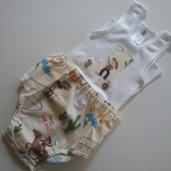 Size 0 Boys Nappy pant set.