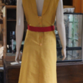 1930's Reproduction Sports Dress with Reversible Bolero