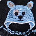 Crochet puppy dog hat Size 1 - 3 years