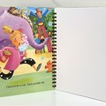 Journal or Sketchbook using recycled Golden Book, Blank Pages