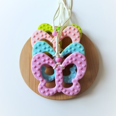 Butterfly Chewable Silicone Necklace