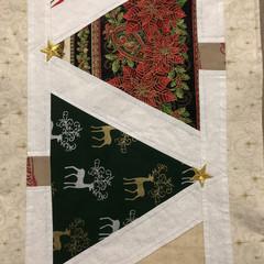 Reversible Christmas Table Topper/ Table Runner