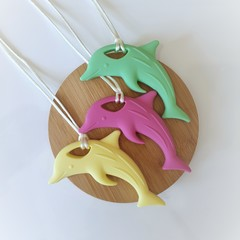 Dolphin Chewable Silicone Necklace