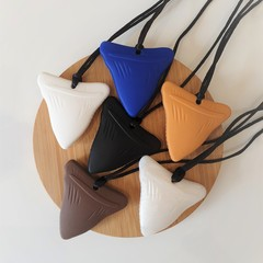 Shark Tooth Chewable Silicone Necklace