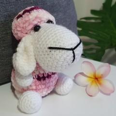 """Molly"" Handmade Colourful Sheep Softie"
