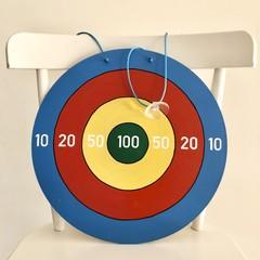 Hand painted Bullseye Target.  [Extra]