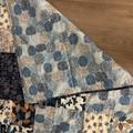 Blue baby play mat/quilt
