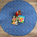 Organic Cotton Tummytime Mat (reversible) with 2 layers of cotton wadding