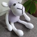 """Dolly"" Handmade Crochet Sheep Toy"