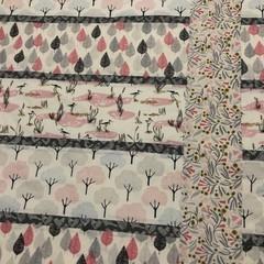 Pink tones baby play mat/quilt