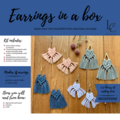 DIY Macrame Earrings Kits - BLUE KIT