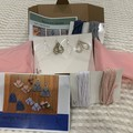 DIY Macrame Earrings Kits - BLUE KIT