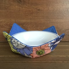 Microwave Bowl Holder - Blue