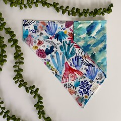 Watercolour Coral - Dog Bandana
