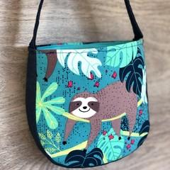 Girls Handbag - Sloth and Denim