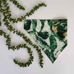 Banana Leaf Camo - Dog Bandana